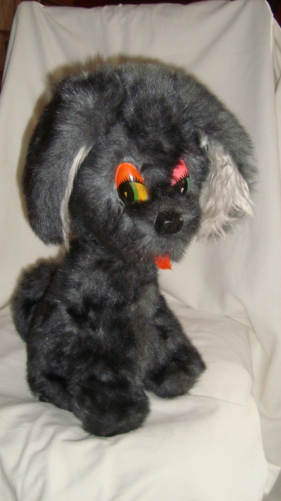 Old Plush Plush Vintage 60-70'S 60-70'S 60-70'S Grand Dog (42x28cm) 6e4317