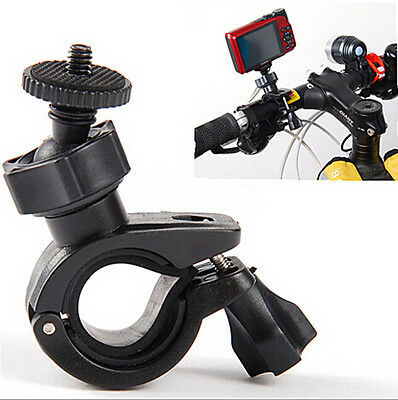 GRAU Bicycle Motorcycle Handlebar Tripod Mount Holder Stand For Camera Camcorder