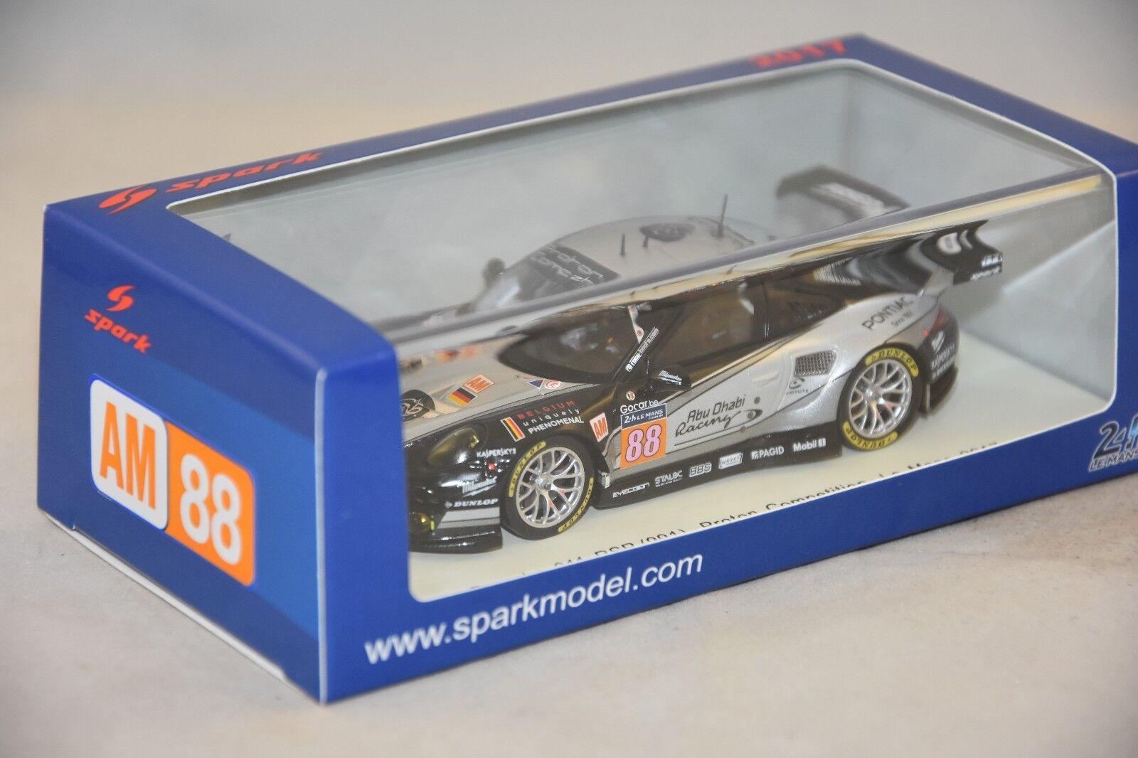 Spark s5840 - PORSCHE 911 RSR N°88 Dempsey Proton  Le Mans 2017 1 43