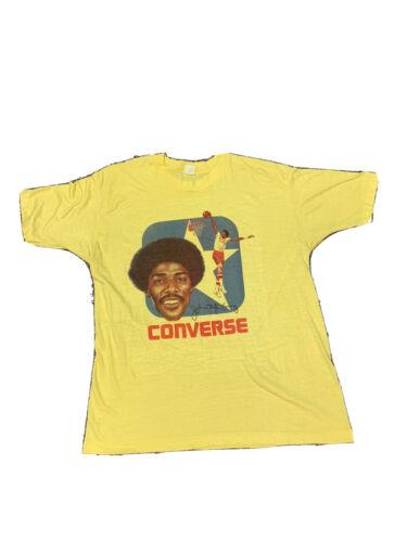 Vintage Julius Erving 1970s Coverse Shirt XL