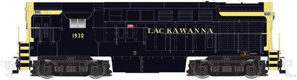 40001873 ATLAS SCALA N H1644 in ritardo corpo ERIE LACKAWANNA  1930 DC, DCC READY