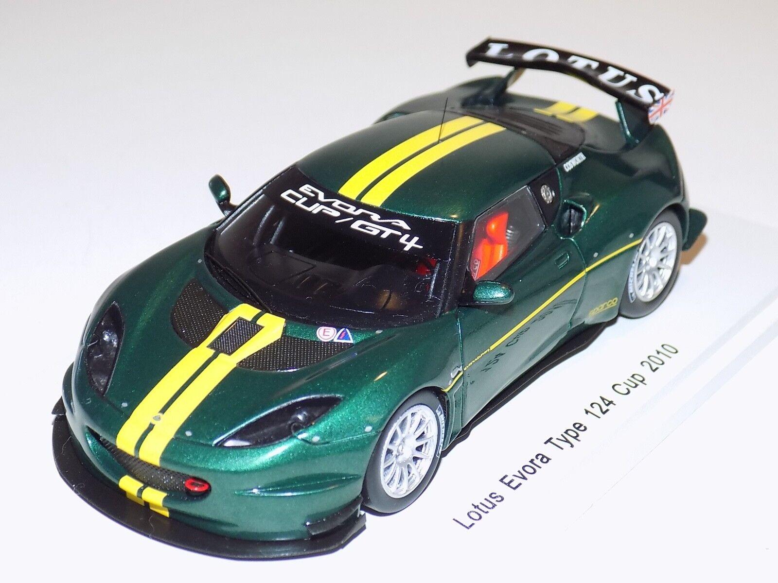 1/43 Spark Street Lotus evorad tipo 124 de 2018 en Verde S2206