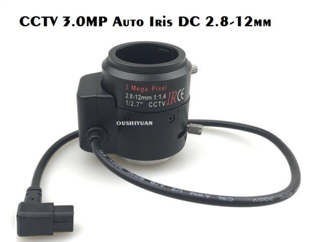 2.8-12MM DC AUTO IRIS CCTV CAMERA LENS VARI-FOCAL ZOOM