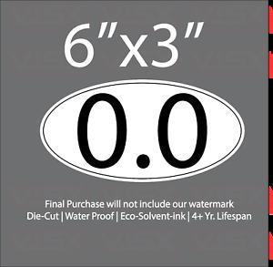 0-0-Bumper-Sticker-Vinyl-Decal-funny-marathon-I-don-039-t-run-jesus-mile-hiking-fish
