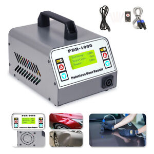 Used PDR-1000 Induction Heater 1000W Hot Box Car Paintless Dent Repair Tool