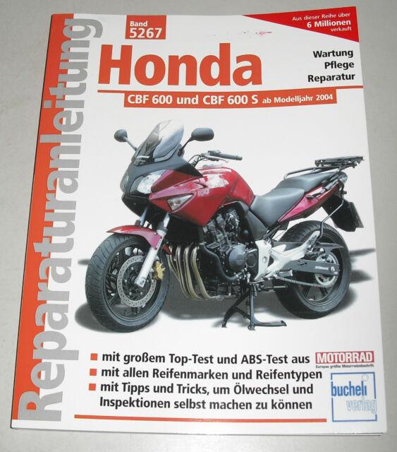 Repair Manual Honda CBF 600 And S from Model Year 2004