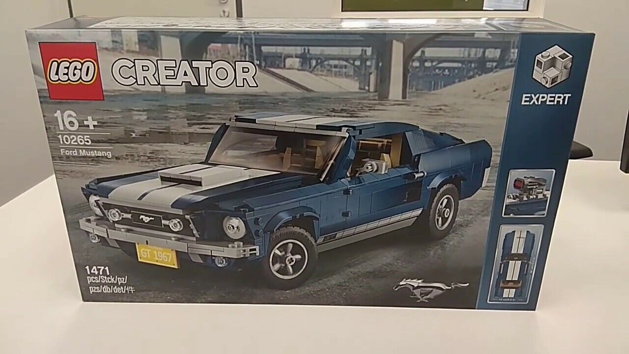 Lego 10265 Creator FORD FORD FORD MUSTANG  GT 1967 NEW SEALED - ON STOCK 84a60c