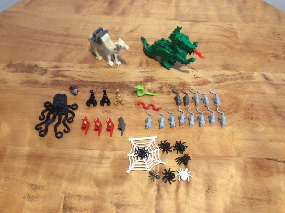 Lego andet, Diverse dyr