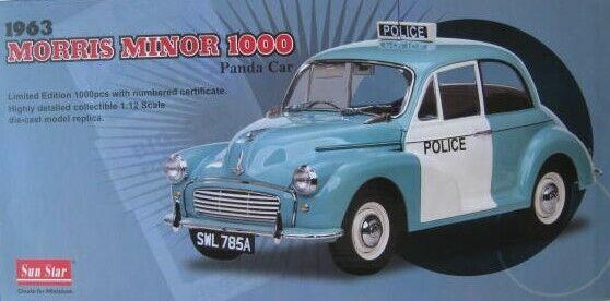 Morris Minor 1000 police limitée à 1.000 unités SUN SUN SUN STAR 1 12 Nouveau ad4387
