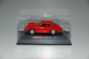 Schuco-1-72-Porsche-356-Red-Boxed-Top-Condition