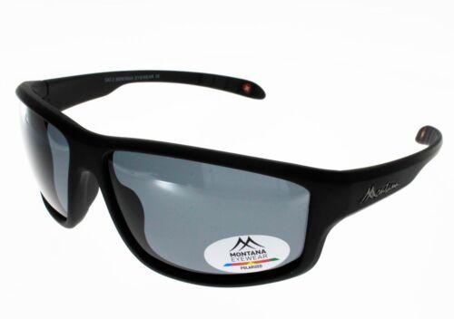 Occhiali da Sole Montana Sp313 Nero Polarizzate Uomo Indice 3 Polarizzate