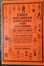 60 Easy Halloween Costumes For Children DIY Ideas Cosplay 1987 Vintage OOP Rare