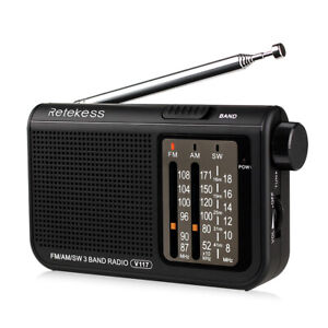 Retekess V117 Portable FM/AM/SW Radio Transistor Emergency for the Seniors Gift