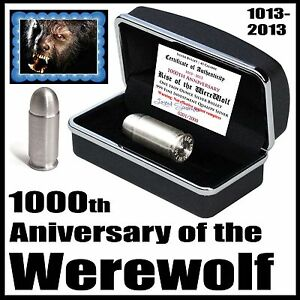 2013-1000th-Anniversary-Werewolf-1oz-999-Pure-Silver-45-Full-Metal-Jacket-Bullet
