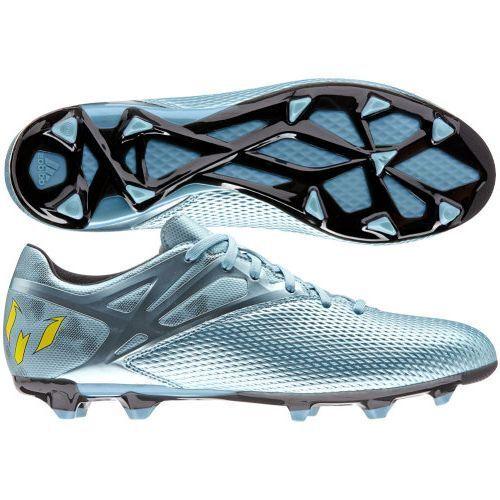 buy popular 4e3f6 9ac12 adidas F 15.3 TRX FG  AG Messi 2015 Soccer Shoes Metallic Blue Brand New