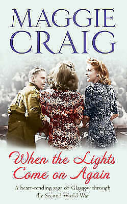 """""""AS NEW"""" When the Lights Come On Again, Craig, Maggie, Book"""