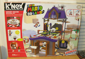 K'NEX KNex Nintendo Super Mario 3D Land Ghost House Building Set w/ Boo NIP VHTF