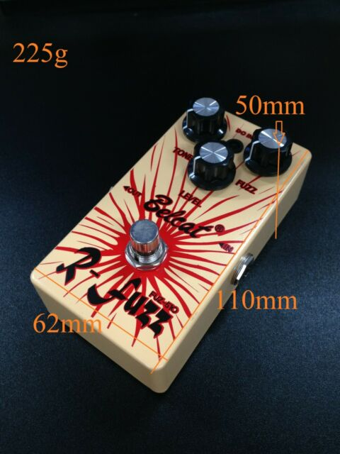 R-Fuzz Belcat Guitar Effects Pedal FUZ-510 - Brand New