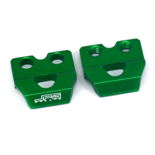 CNC Brake Lines Hose Clamp Holder For Kawasaki KX80 100 125 KLX125 D-Tracker125