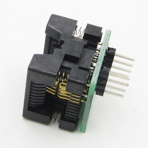 SOP8 to DIP8 Wide-body Seat Wide 200mil Programmer Adapter Socket Senior Best