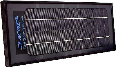 Pannello solare Lacme 6 W + supporto a scomparsa