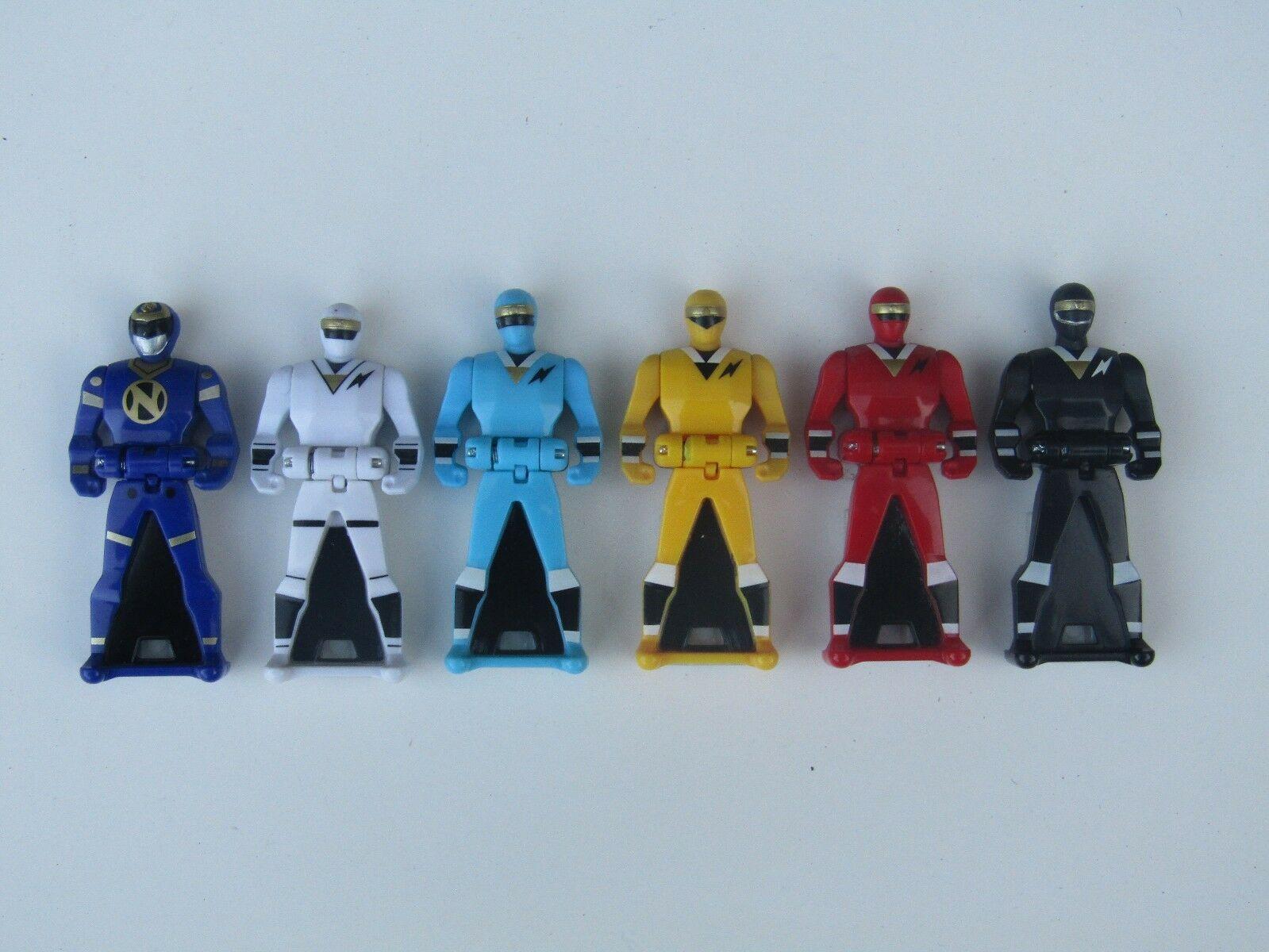 LOOSE  Power Rangers Key Ranger Alien Rangers lot 6