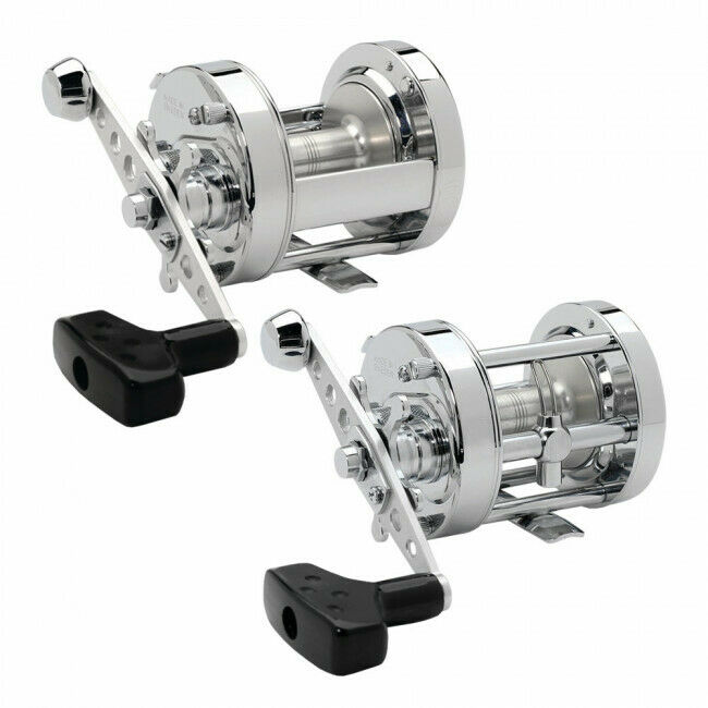 Abu Garcia 6500 Rocket Chrome CT/CS Multiplier/Fishing Reels