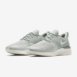 big sale 03527 ce589 Image is loading NIKE-Odyssey-React-Flyknit-2-AH1015-001-Grey-