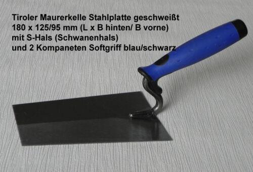 Glätter Stahl 1 Berner Putzk Reibebr Schwamm 2 Maurerk Maurerkellen Set 5tlg.