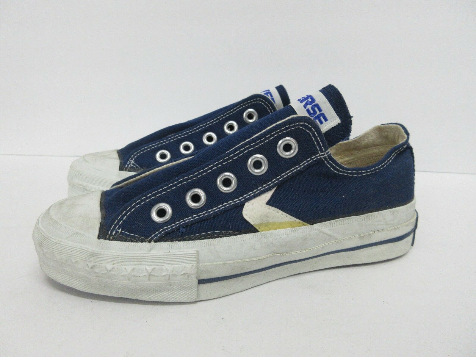 Vintage Retro Converse in Navy Blue 60s/70s 4 Kids' Size: 2.5, Women's 4 60s/70s RARE 06e978
