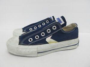 Vintage Retro Converse Low Top Kids/' Shoe in Sky Blue Size 11*