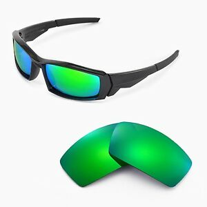 fe897b6df48 Image is loading New-Walleva-Polarized-Emerald-Lenses-For-Oakley-Canteen-