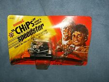 Chips Wind N Watch Motorcycle New On Card 1981