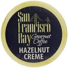San Francisco Bay Coffee, Hazelnut Creme, 36 OneCup Single Serve Cups , New, Fre