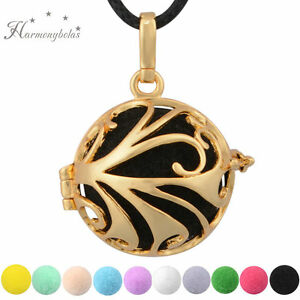 Gold phoenix pendant aromatherapy necklace perfume diffuser for oil image is loading gold phoenix pendant aromatherapy necklace perfume diffuser for aloadofball Images
