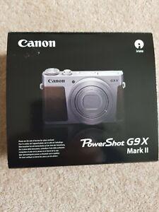 Canon PowerShot G9X Mark II Camera Black (UK Stock)