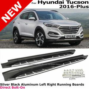 For-16-19-Hyundai-Tucson-Running-Side-Steps-Boards-Nerf-Bars-Aluminum-Rails