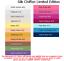 4x5cm Échantillon Couleur Testers /& Par Mètre Purchasing 100/% soie mousseline Ltd Edition