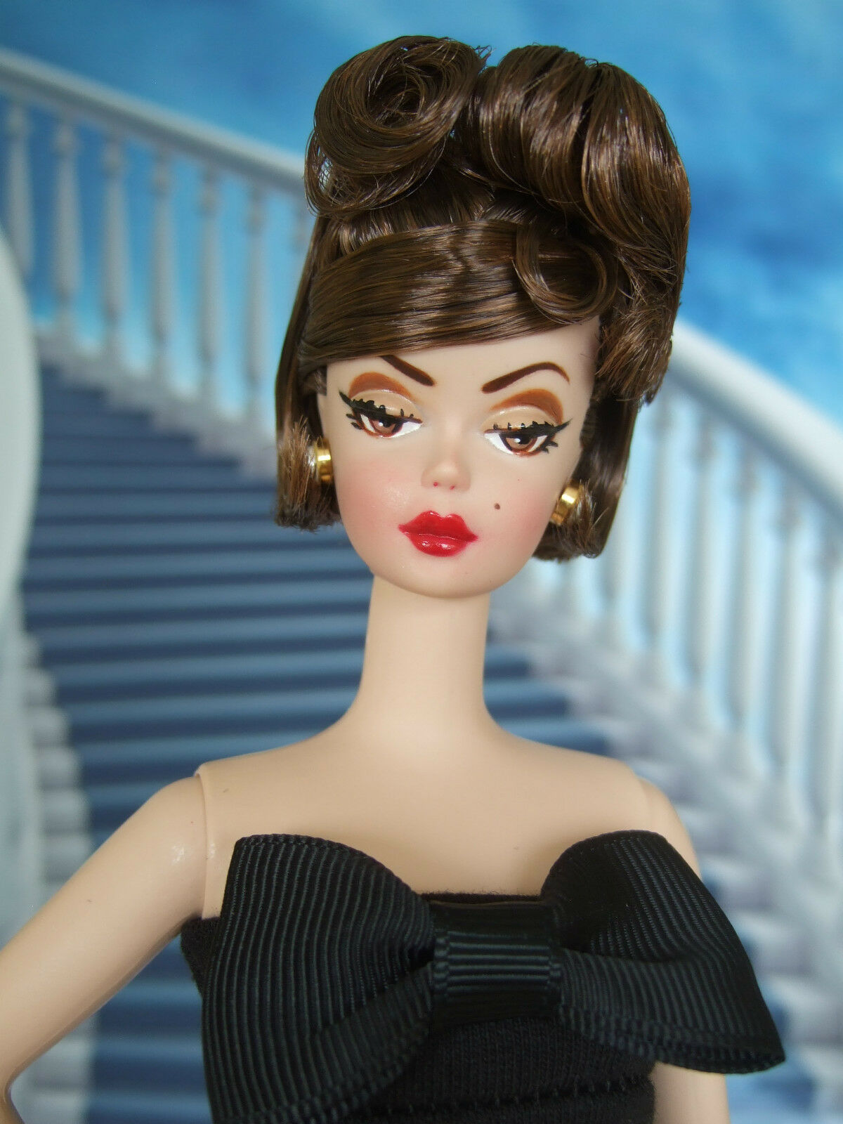 Impresionante marrónette Movie Star uno de una clase Silkstone Barbie Wow  por Marilyn S