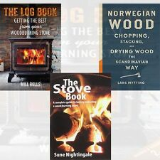 The Stove Book,The Log Book  & Norwegian Wood 3 Books Collection Set Pack NEW UK