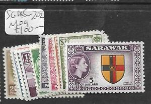 SARAWAK (P2603B) QEII SG 185-202 MOG