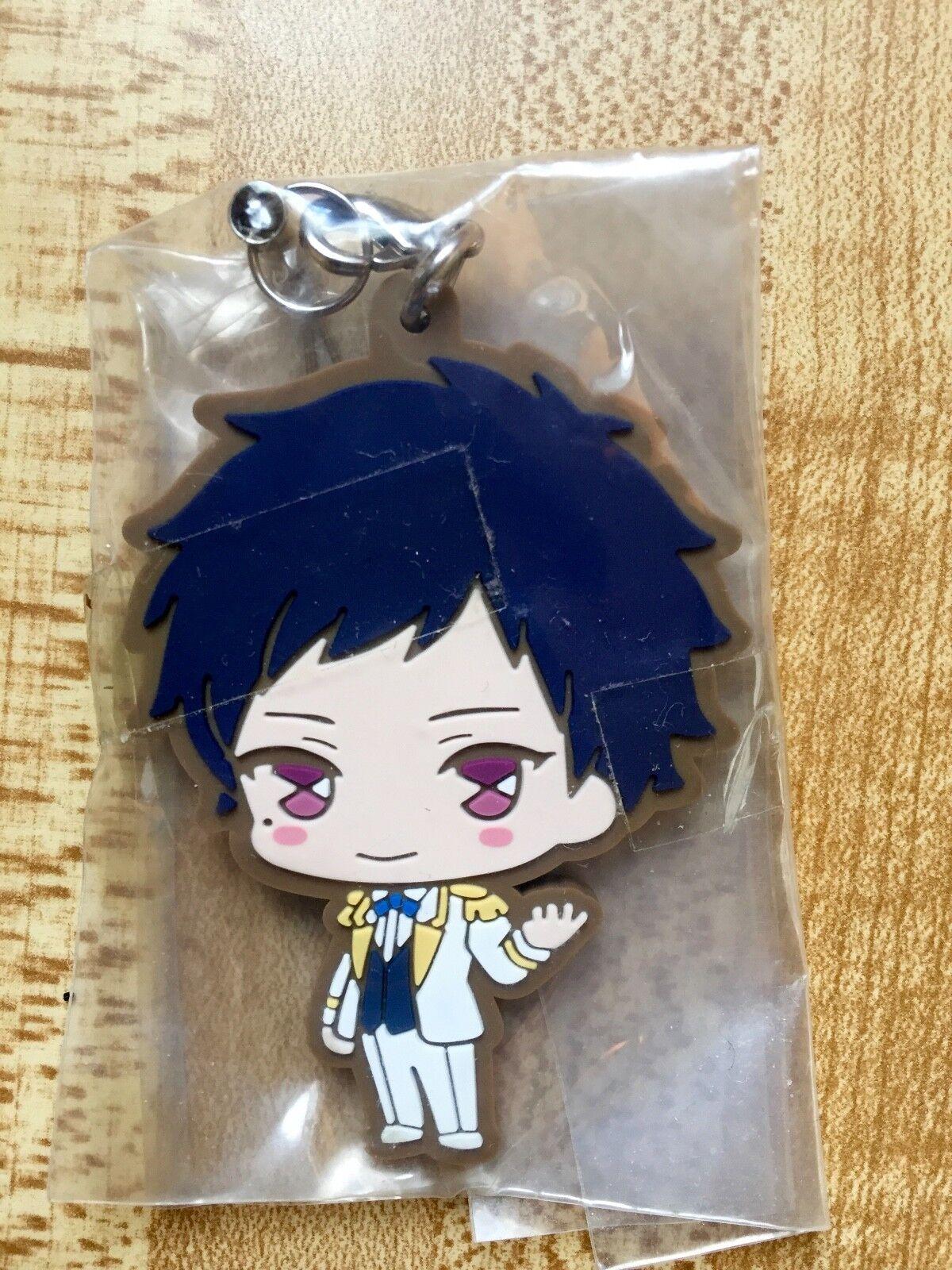 Anime Ensemble Stars ES Sakuma Rei sena izumi Keychain Rubber Phone Strap Charm