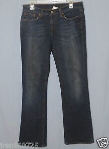Women-039-s-Lucky-Brand-Blue-Jeans-Size-8-29-Regular-Length-Low-Rise-Flare