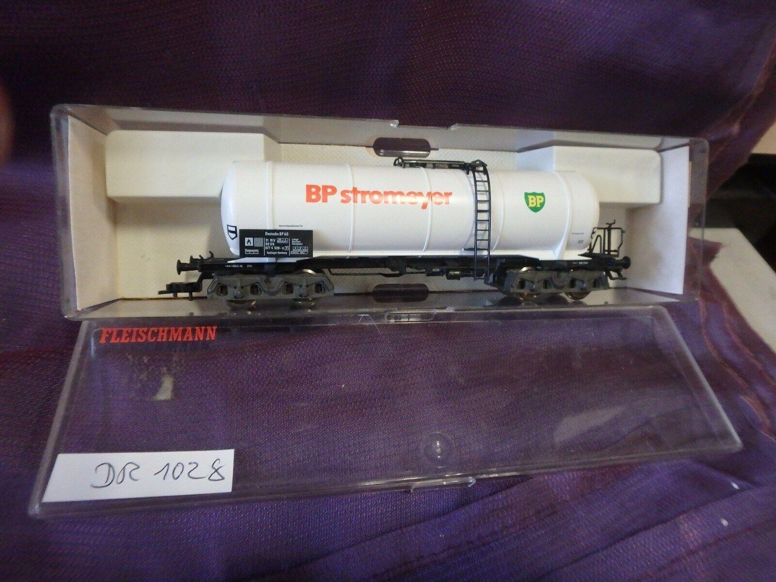 Fleischmann 5474 Camión Cisterna Bp como Nuevo de Colección Agdr1028