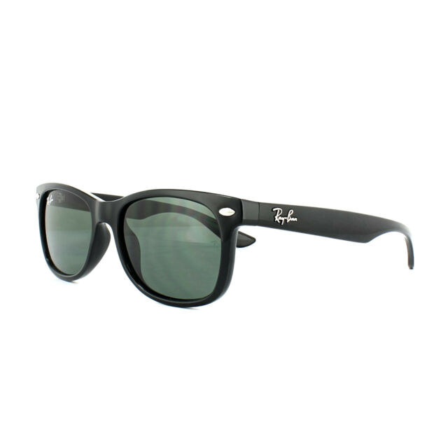 5ab6785327b472 Ray-Ban Junior 0rj9052s Square Sunglasses for Youth Black Green 47 ...