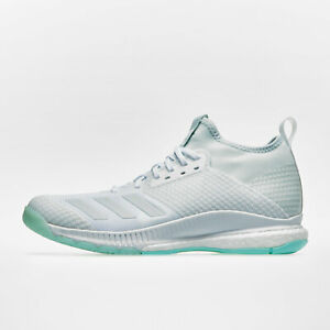 Details about adidas Womens Crazyflight X 2 Mid Netball Trainers Sports  Shoes White