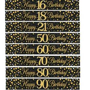 BIRTHDAY-BANNERS-GOLD-BLACK-SILVER-AGES-18-21-30-40-50-60-65-70-80-90-PARTY