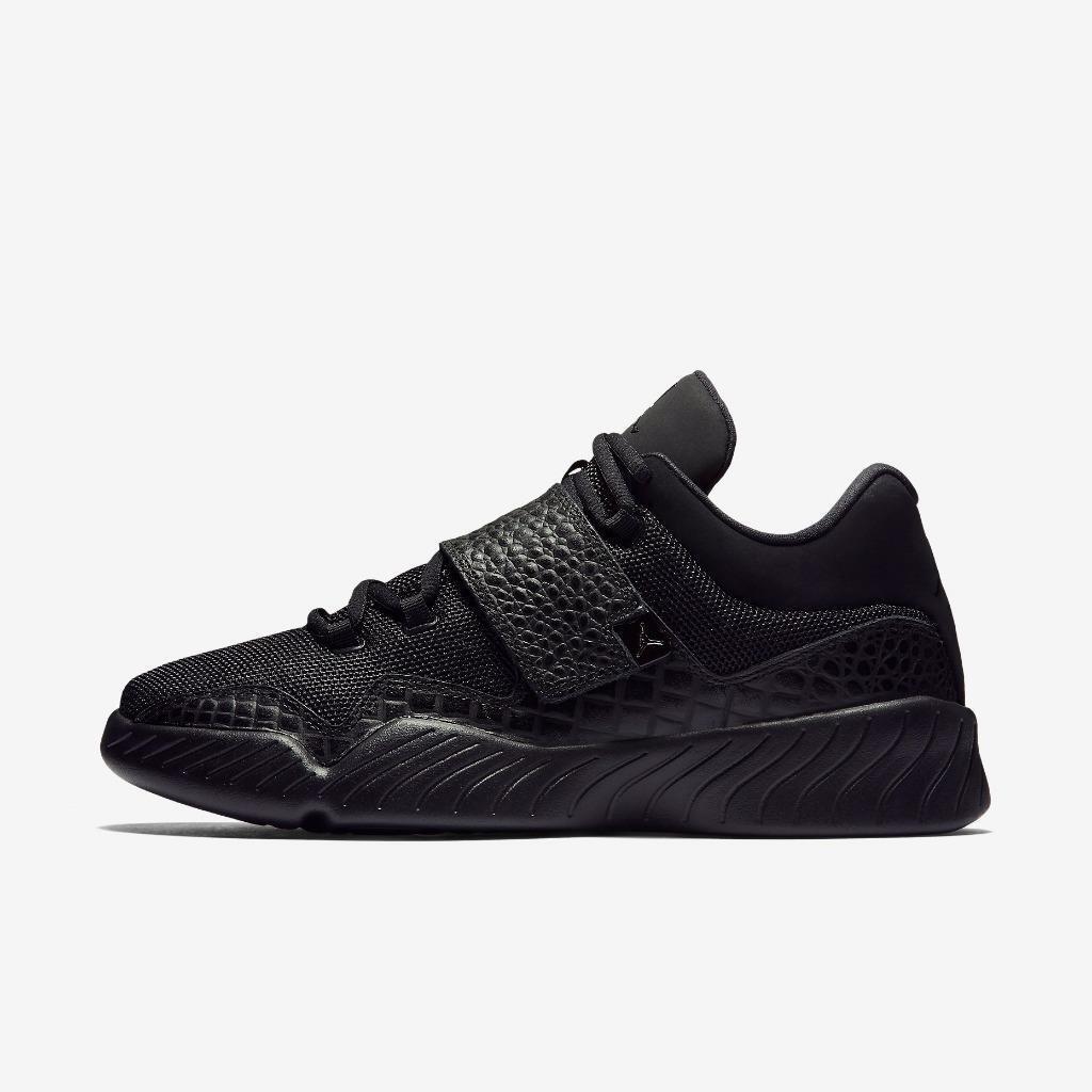 Air Jordan negro J23 J 23 854557 001 triple todo negro Jordan - crocodile print-mesh-strap 4f3756