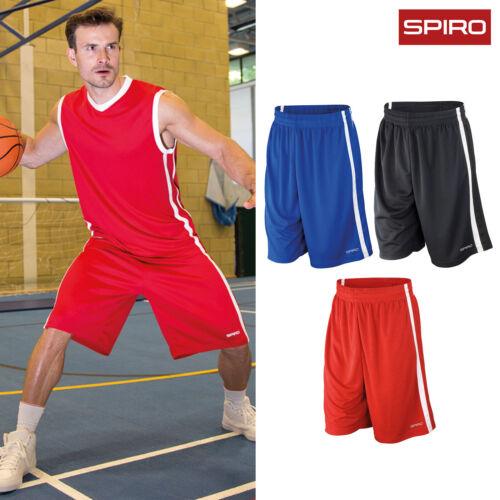 Sports Running Gym Demi-Pantalons Spiro Basketball Quick-Dry Shorts S279M