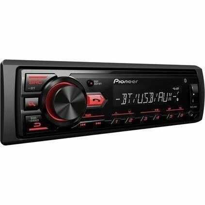 Pioneer Single Din USB Mp3 Bluetooth Multimedia Stereo Receiver MVH-295BT